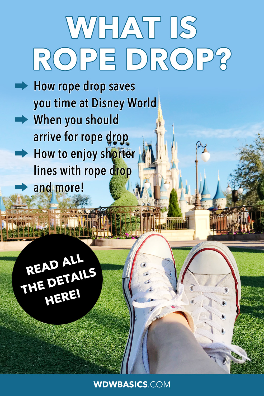 What is rope drop?