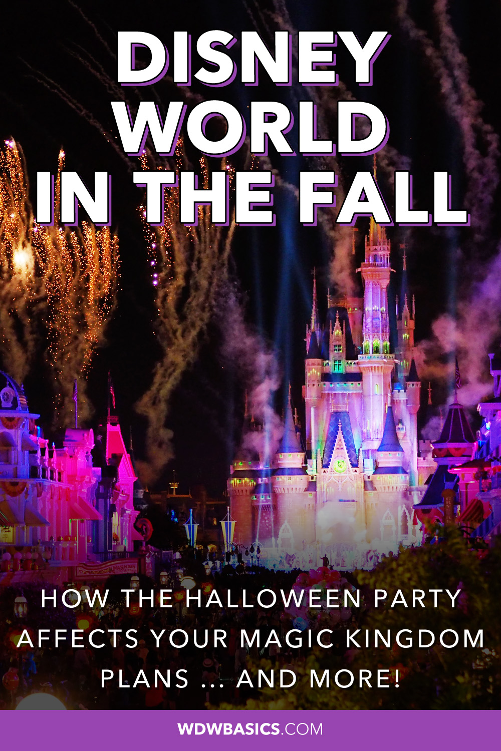 Disney World in the Fall