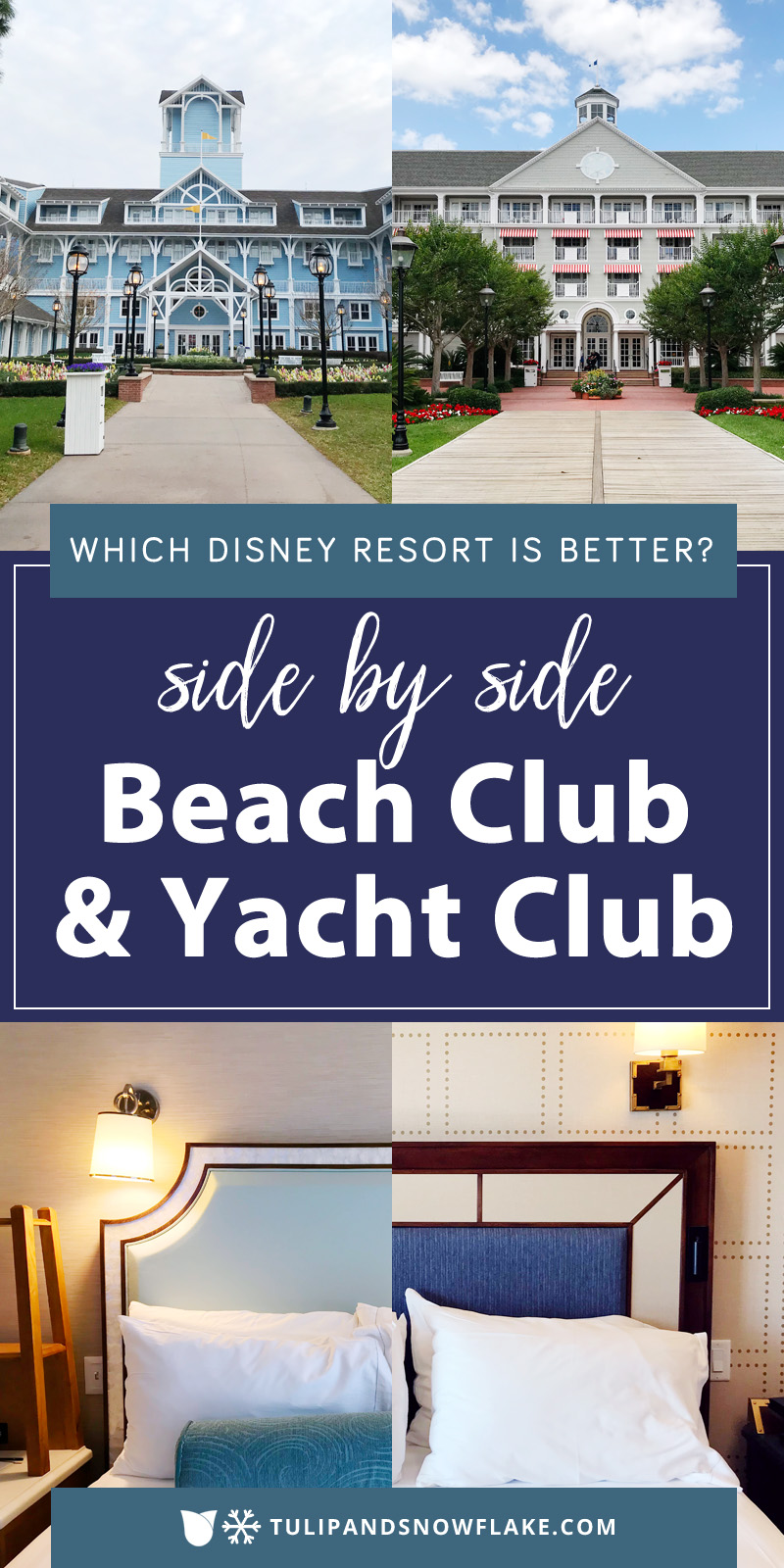 Disney's Beach Club or Yacht Club