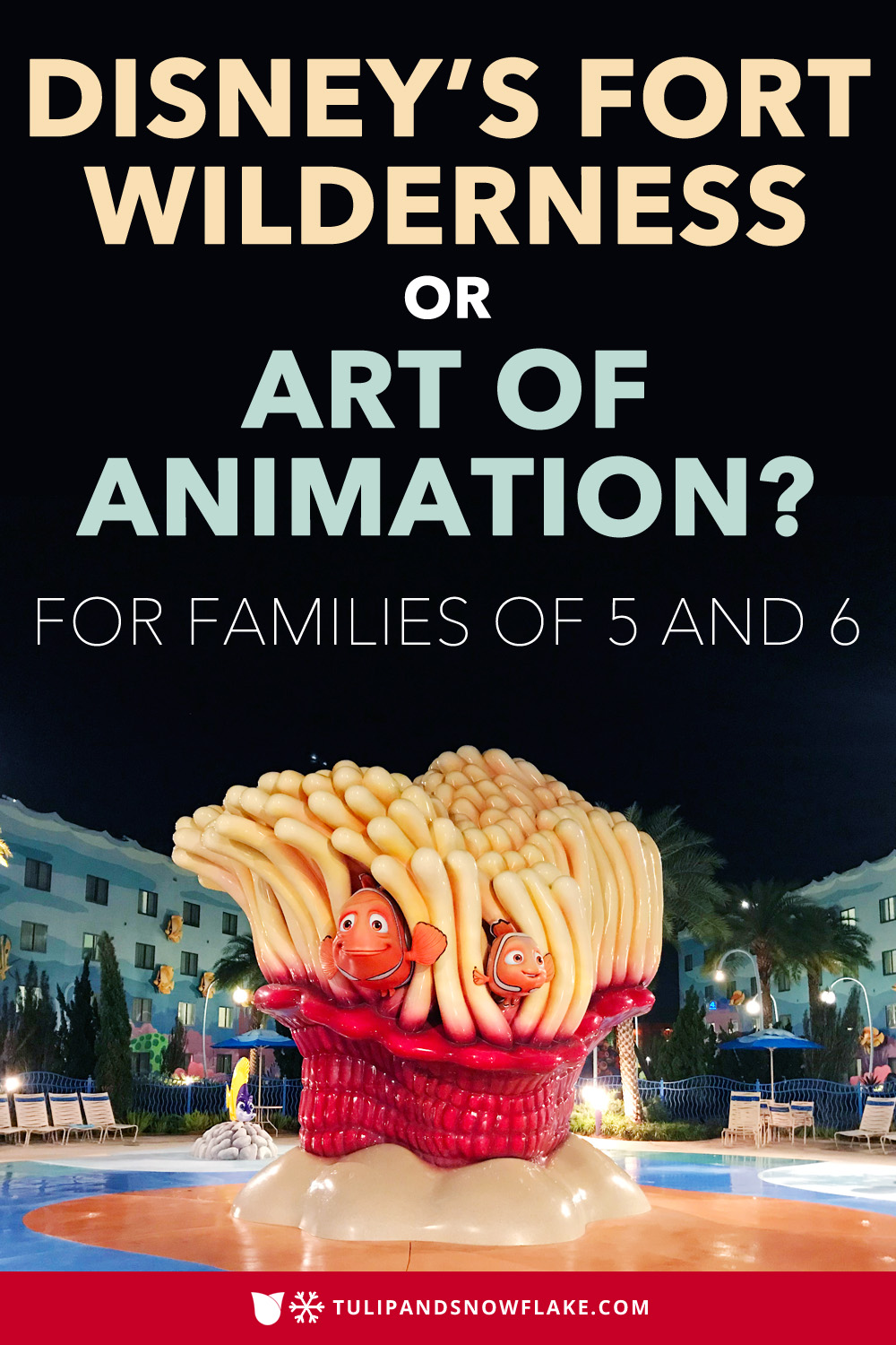 Disney Fort Wilderness cabins vs Art of Animation family suites