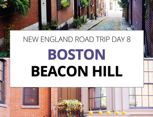 New England Road Trip day 8 – Beacon Hill and the Charles River Esplanade