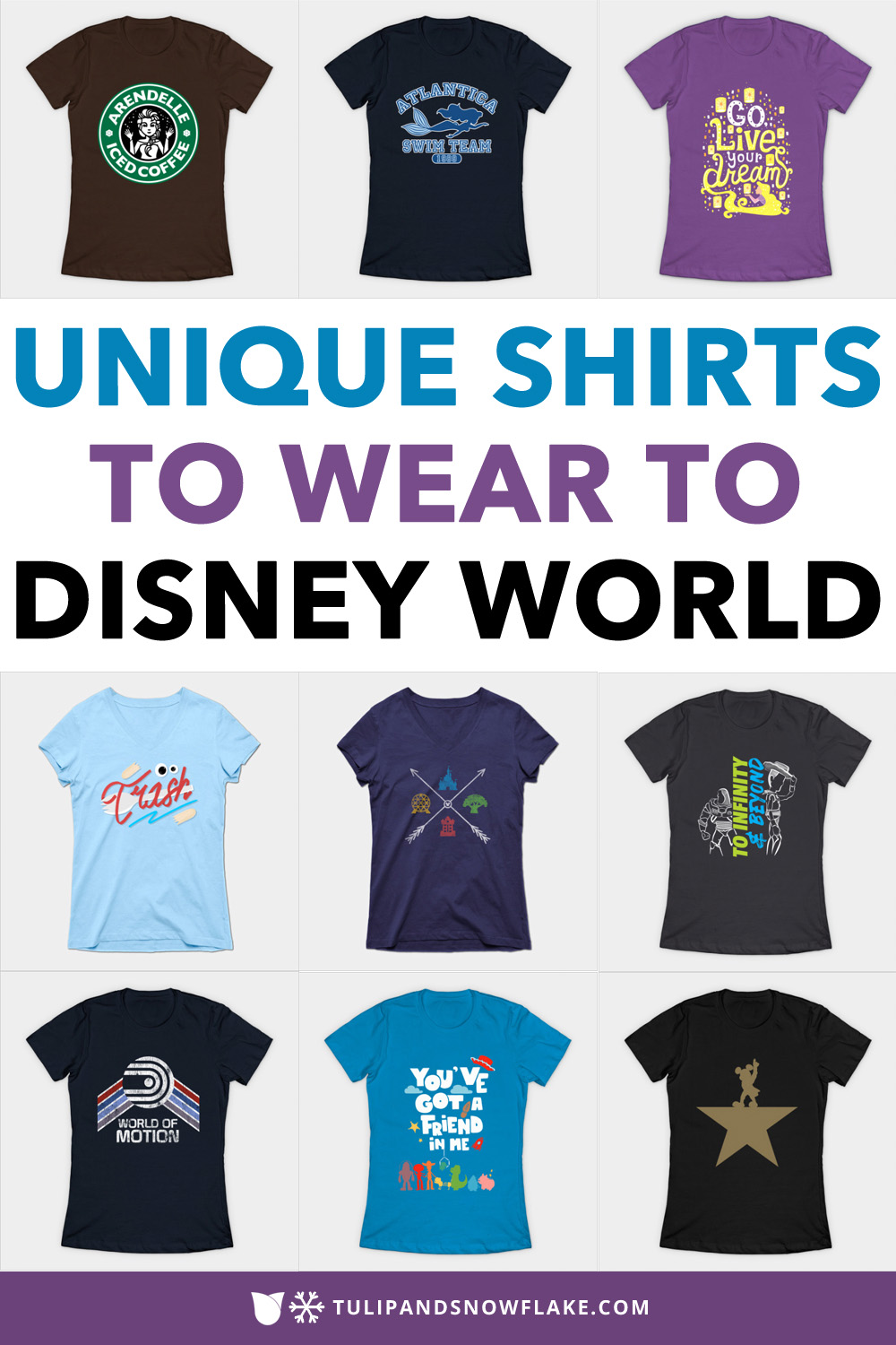 unique shirts to wear to Disney World