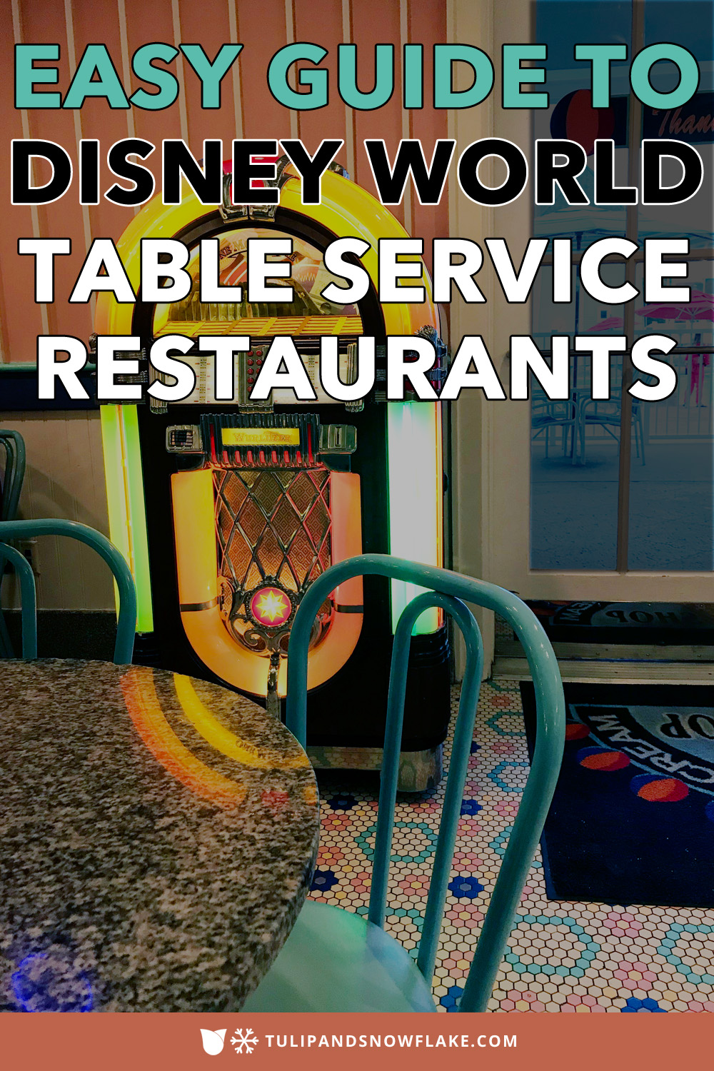 Disney World Table Service Restaurants