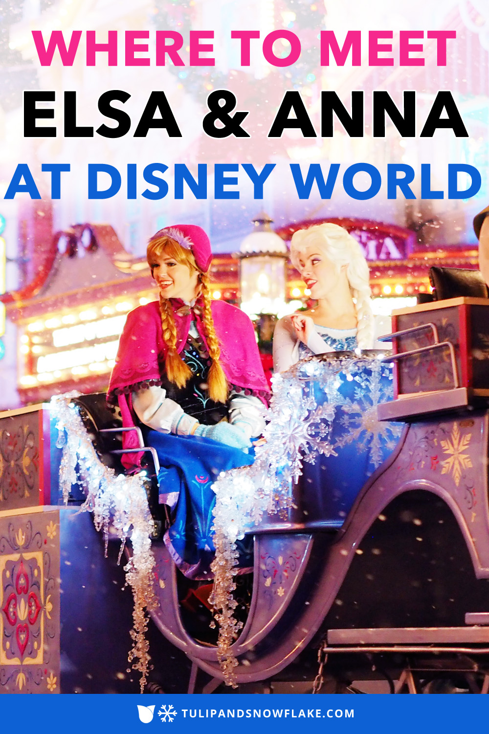 Where to Meet Elsa and Anna at Disney World