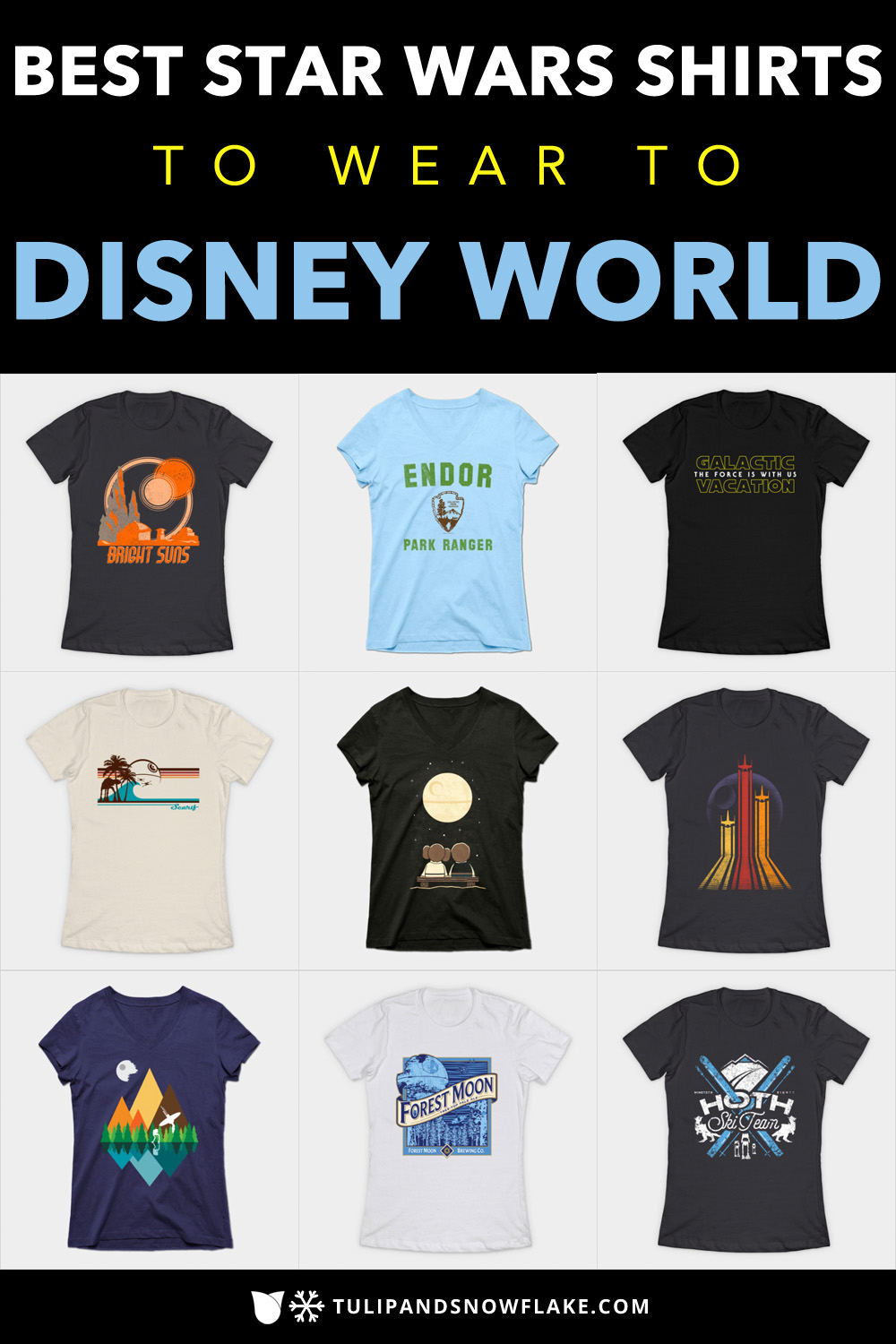 Best Star Wars Shirts to wear to Disney World