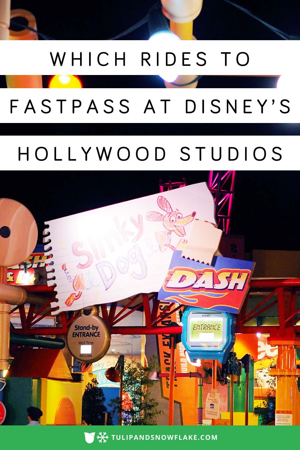 Which rides to FastPass at Disney's Hollywood Studios