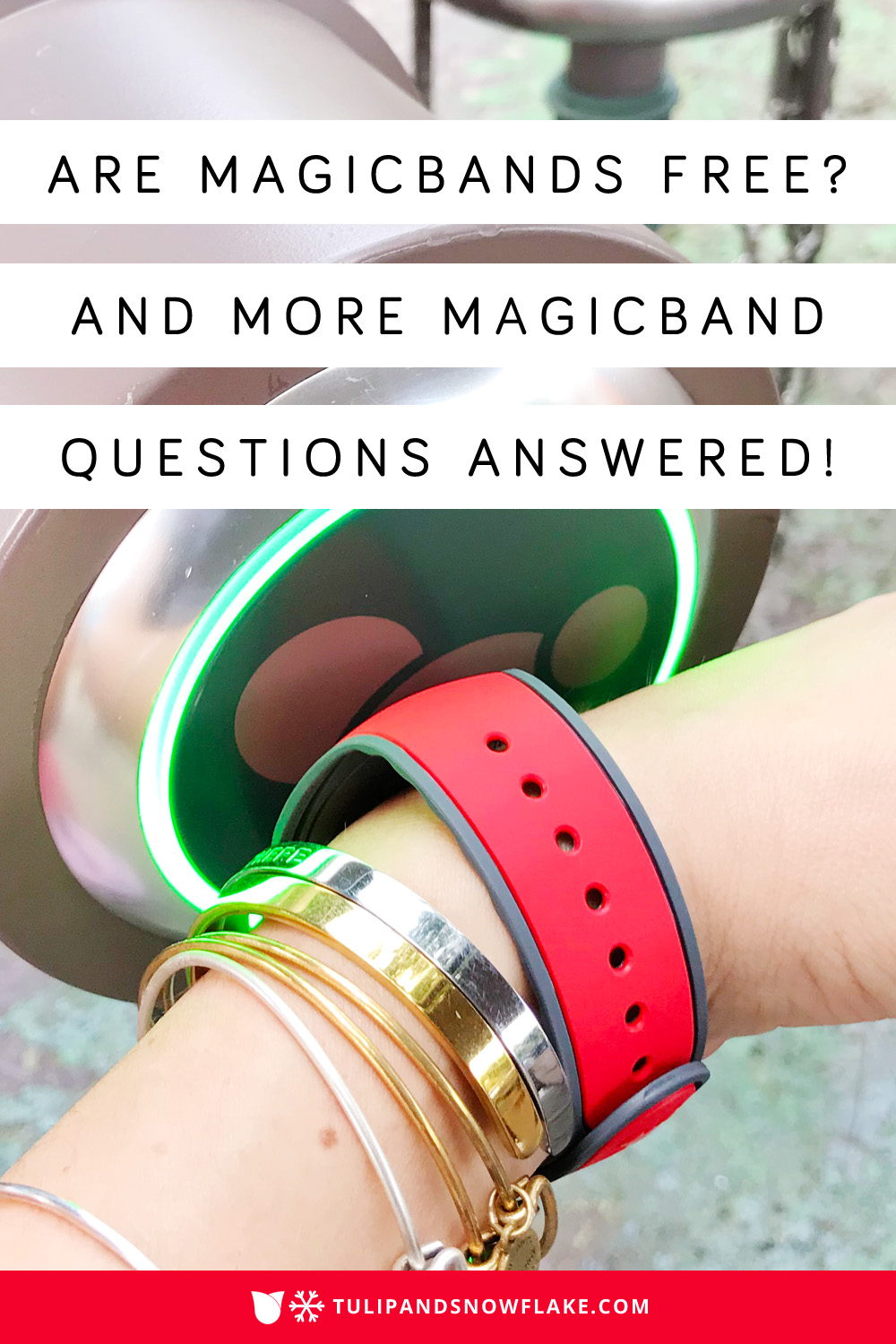 Are MagicBands free?