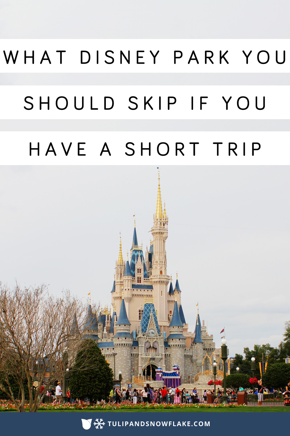 Which Disney World park to skip if you have have a short trip