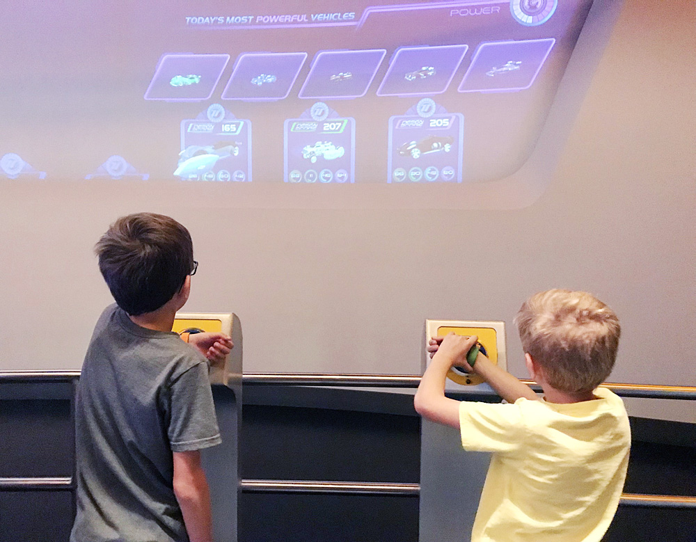 Test Track MagicBands