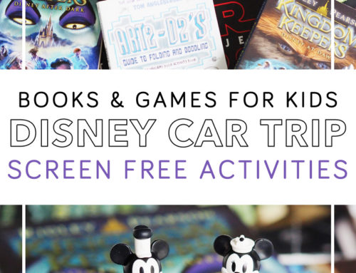 Screen Free Disney Road Trip Games and Activities for Kids