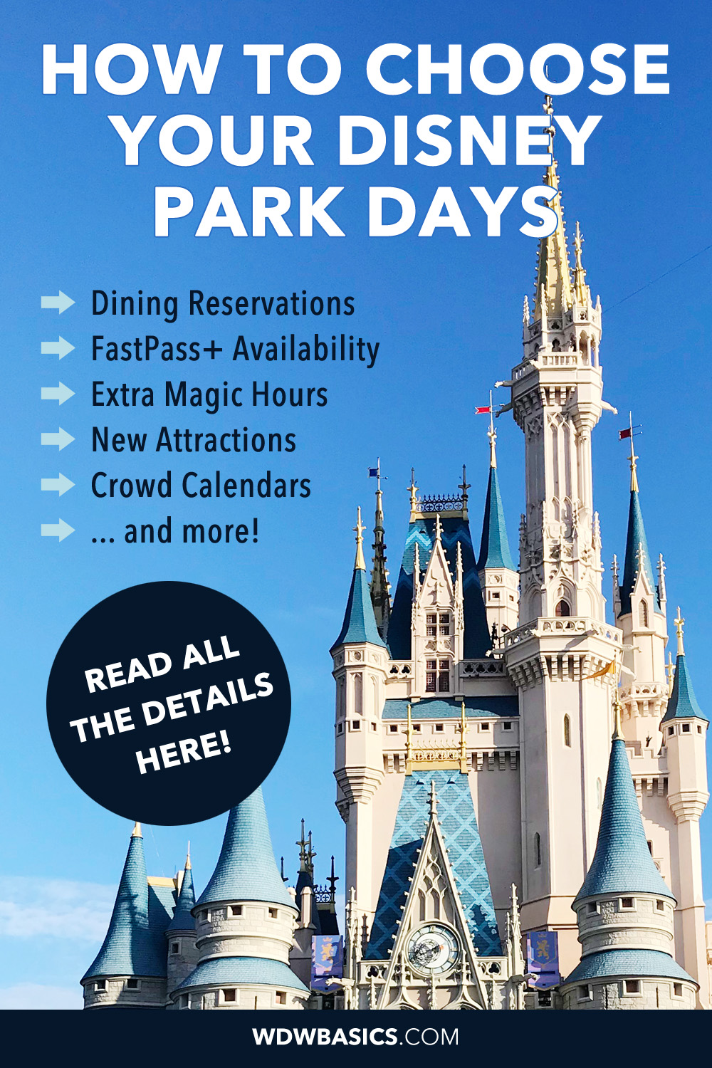 how to choose your Disney park days