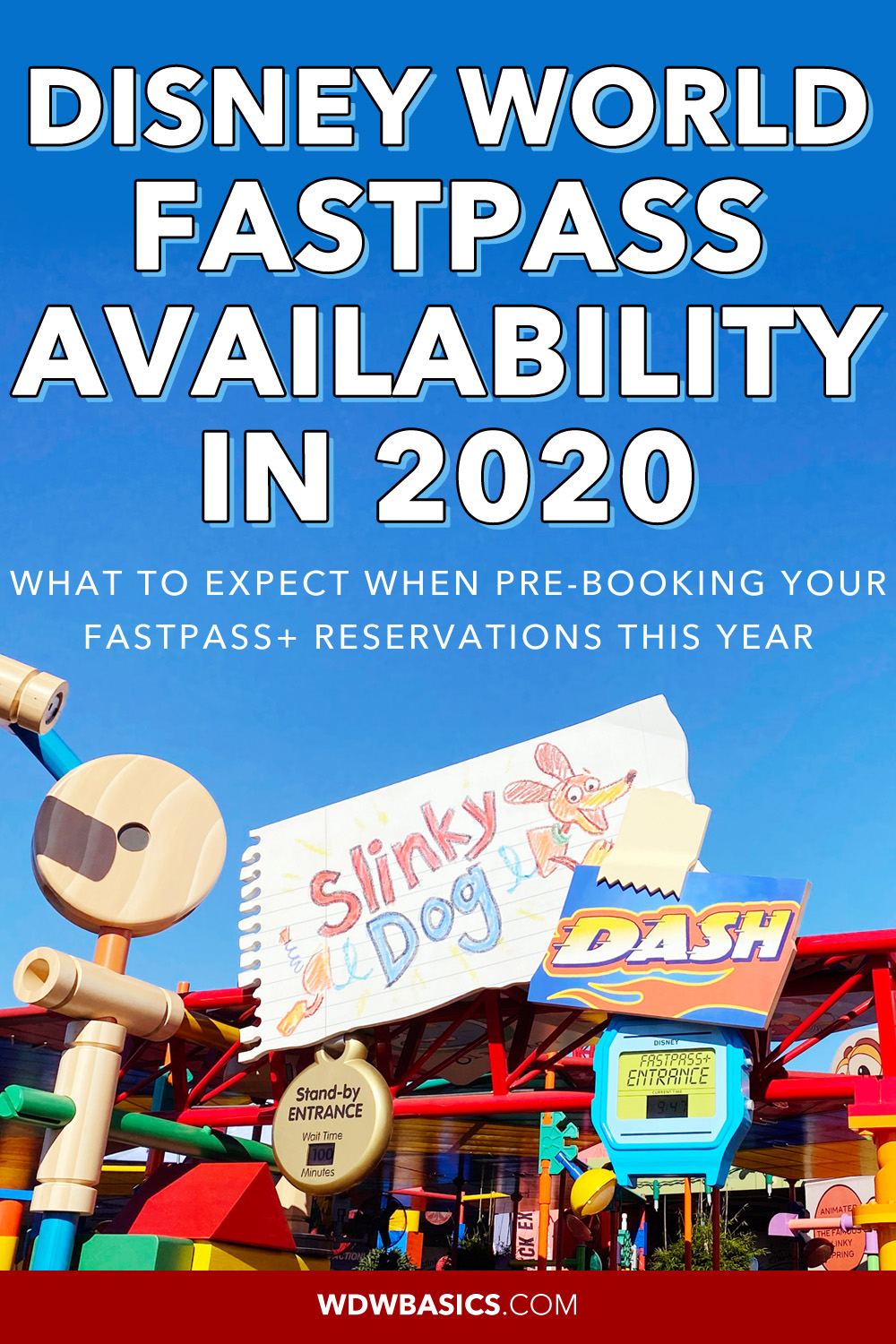 Disney FastPass+ Availability in 2020