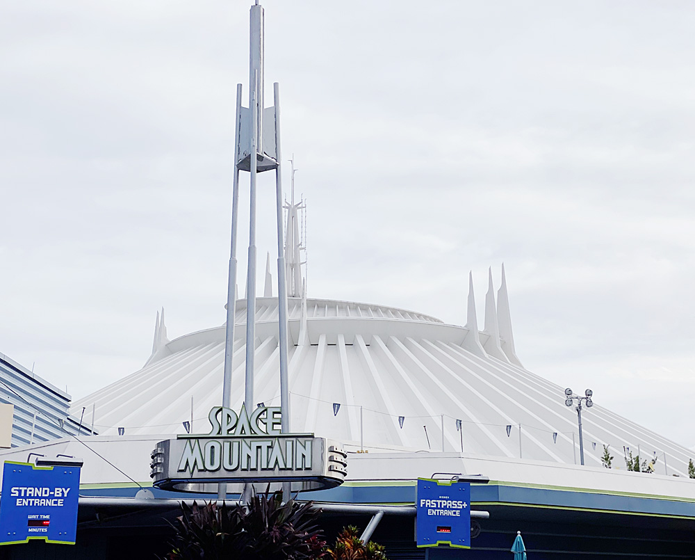 Space Mountain FastPass