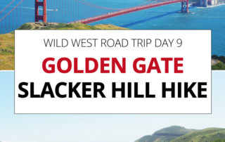 Golden Gate Bridge Slacker Hill