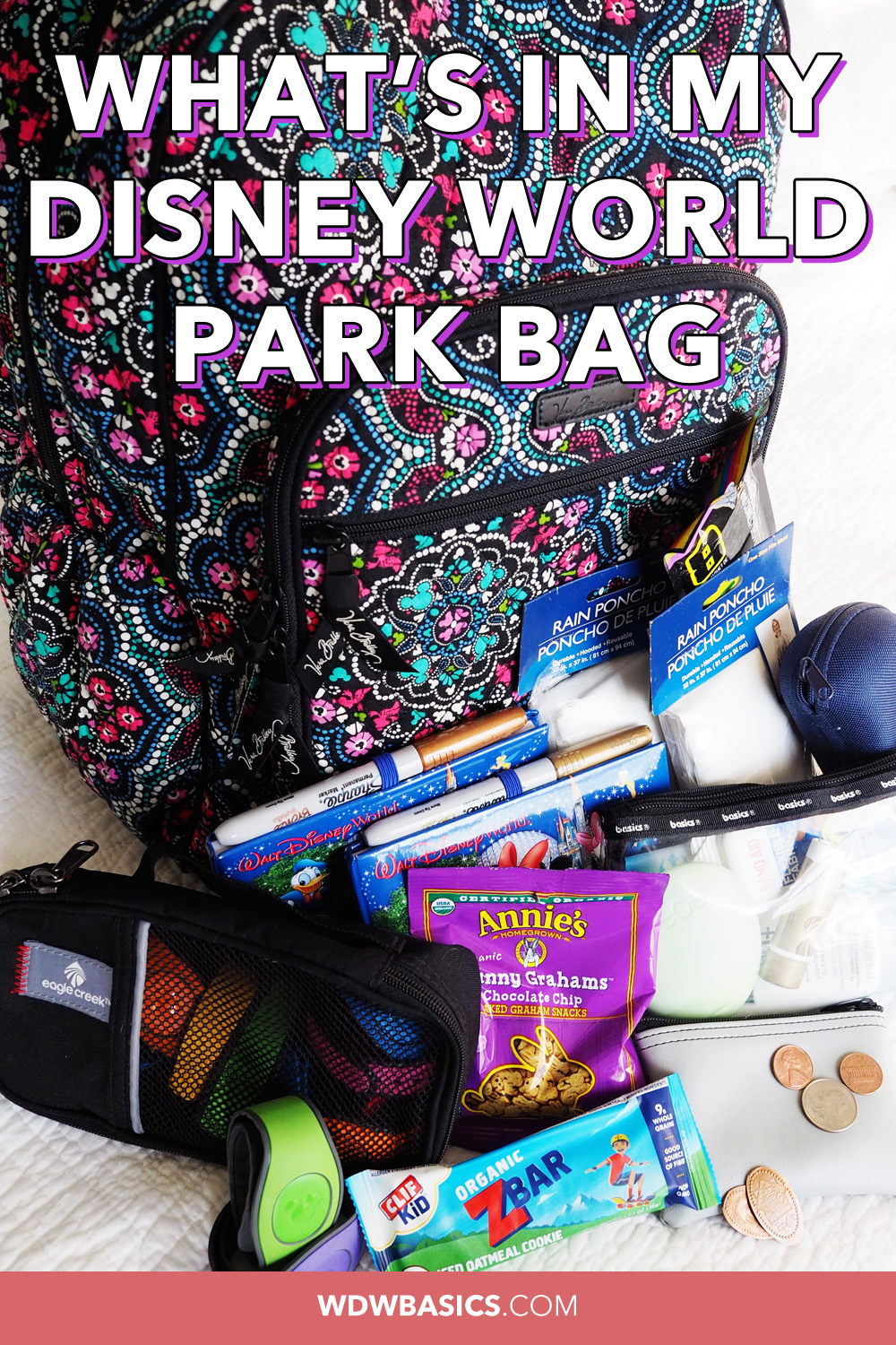What's in my Disney World park bag