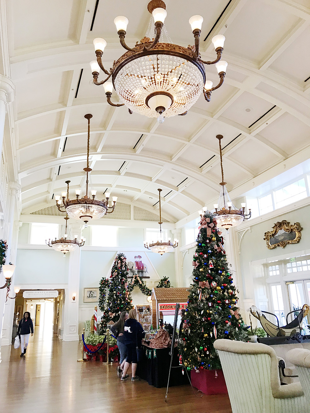 Disney's Boardwalk Inn at Christmas