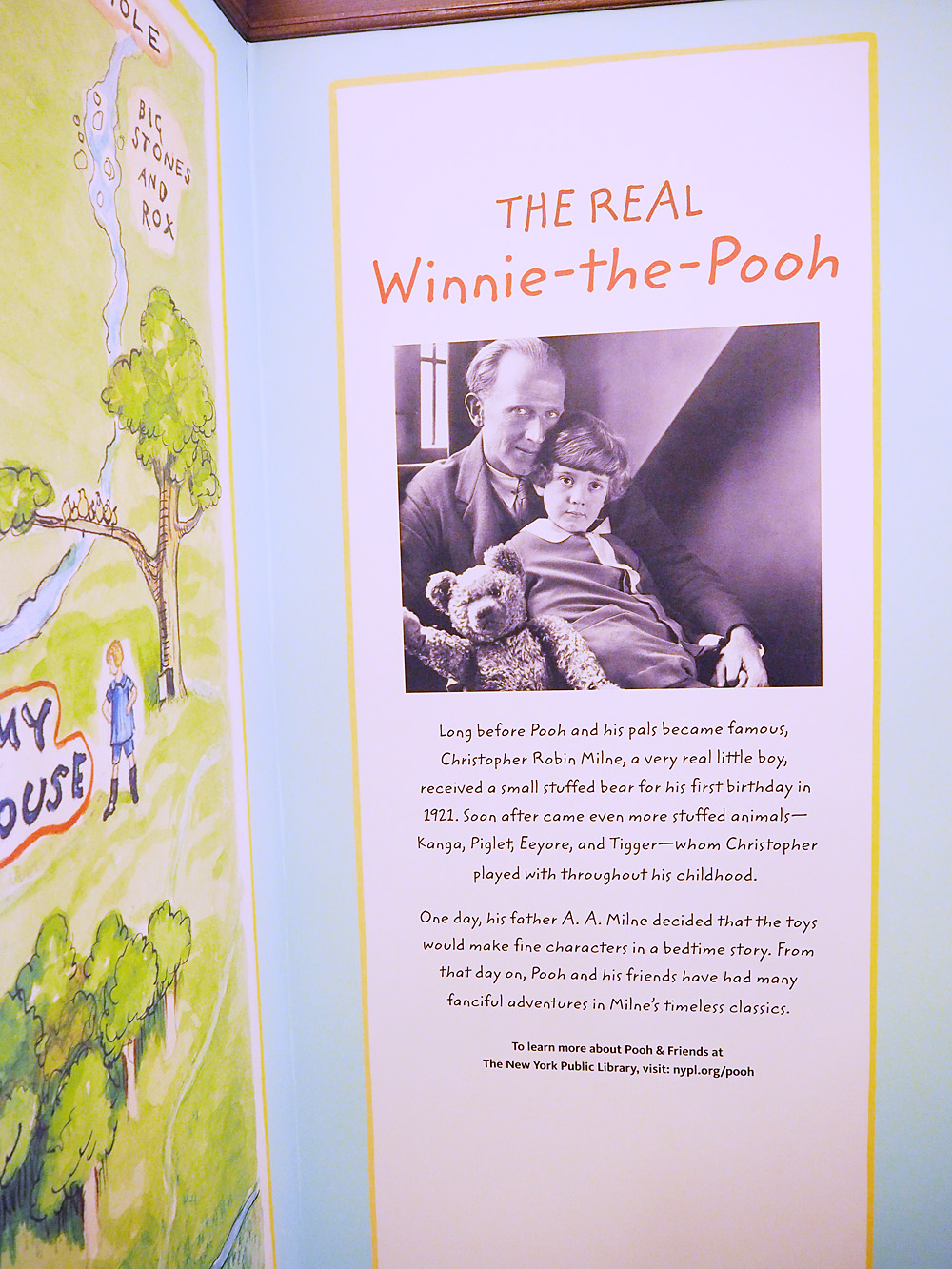 Original Winnie the Pooh at the New York Public Library