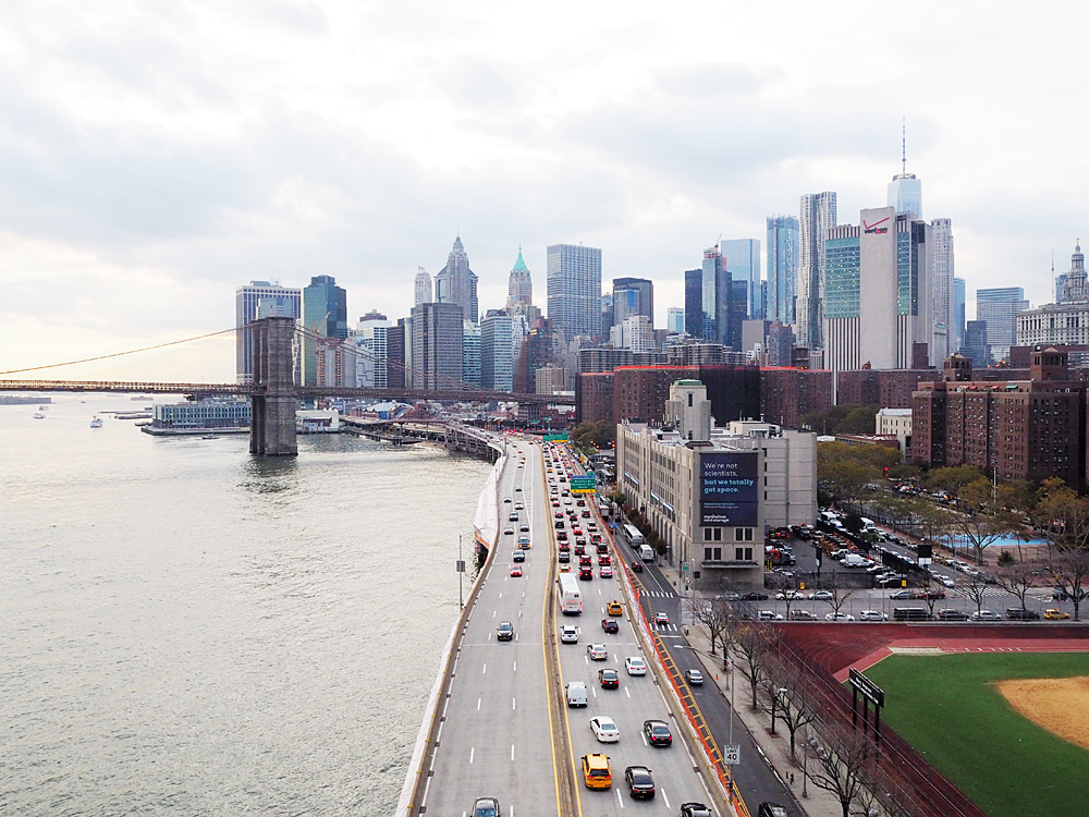 Manhattan Bridge views