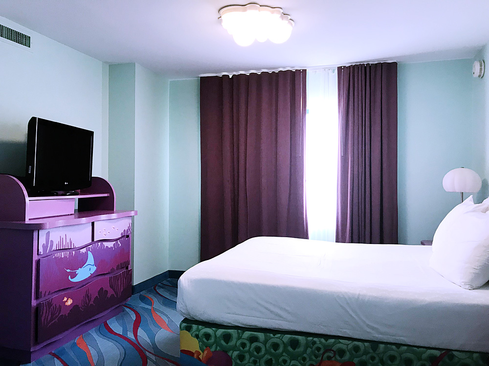 Disney's Art of Animation Resort Finding Nemo bedroom