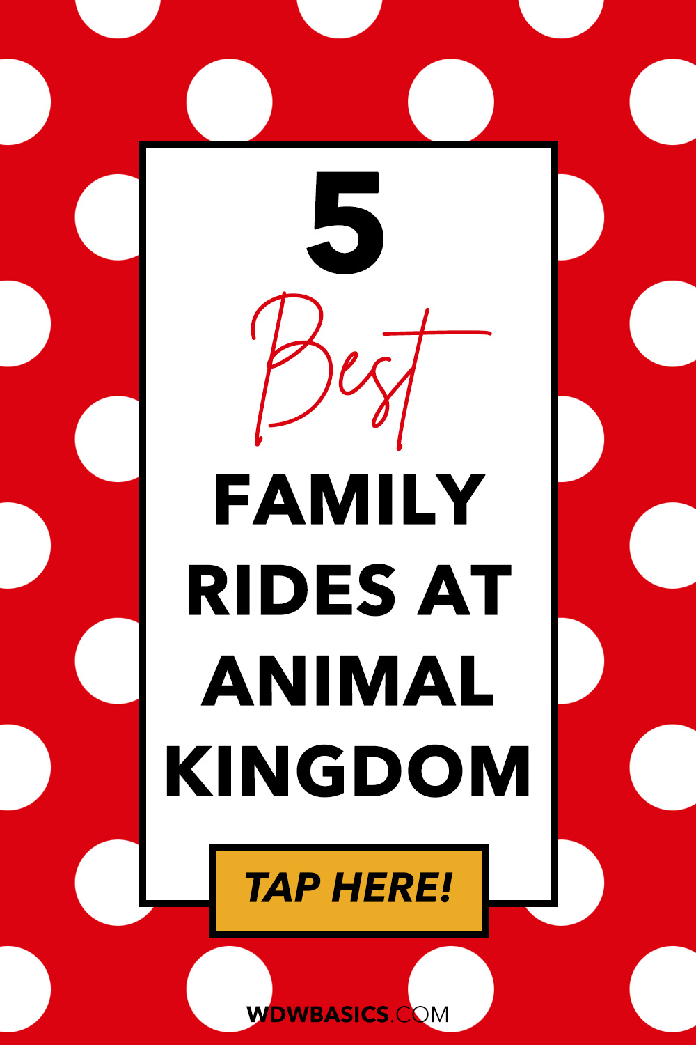 Best Animal Kingdom Rides for families