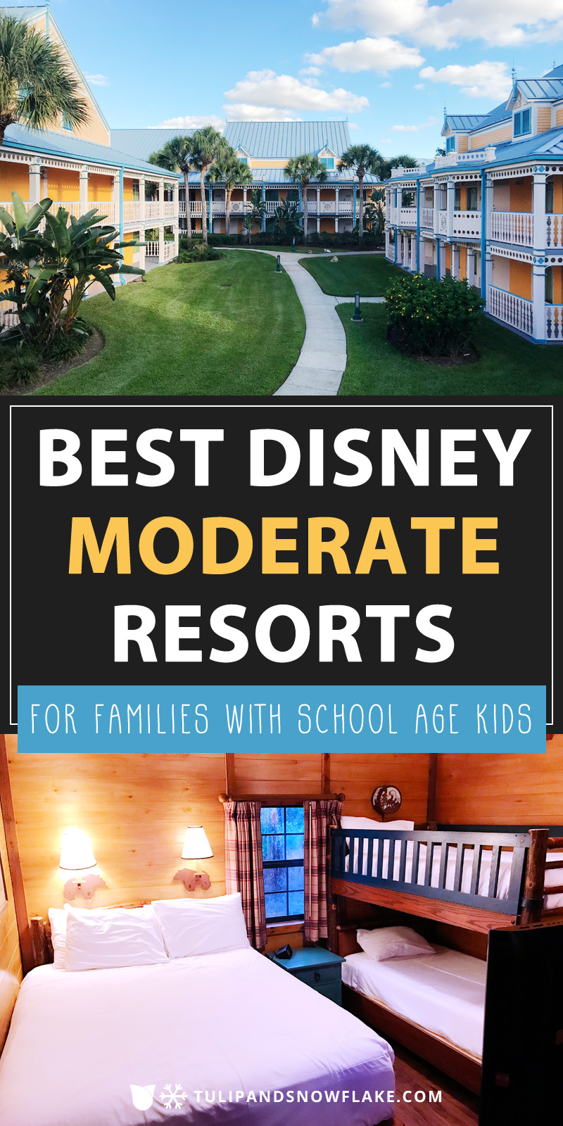 Best Disney moderate resorts for families with school age kids