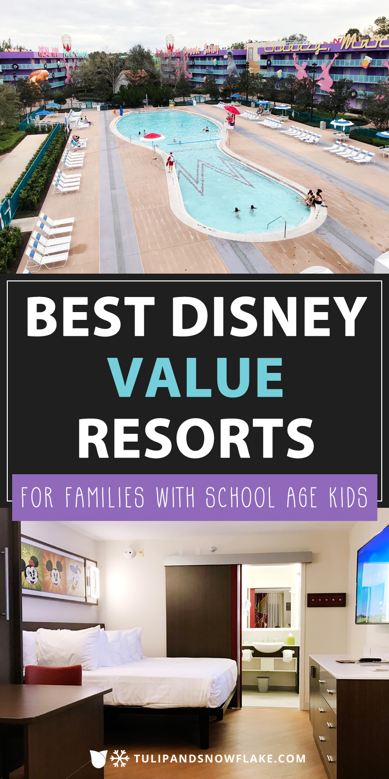 Best Disney Value Resorts for families with school age kids