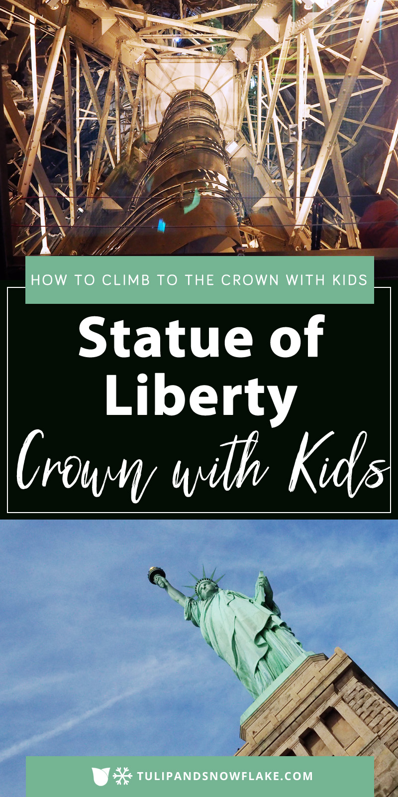 Statue of Liberty Crown with Kids