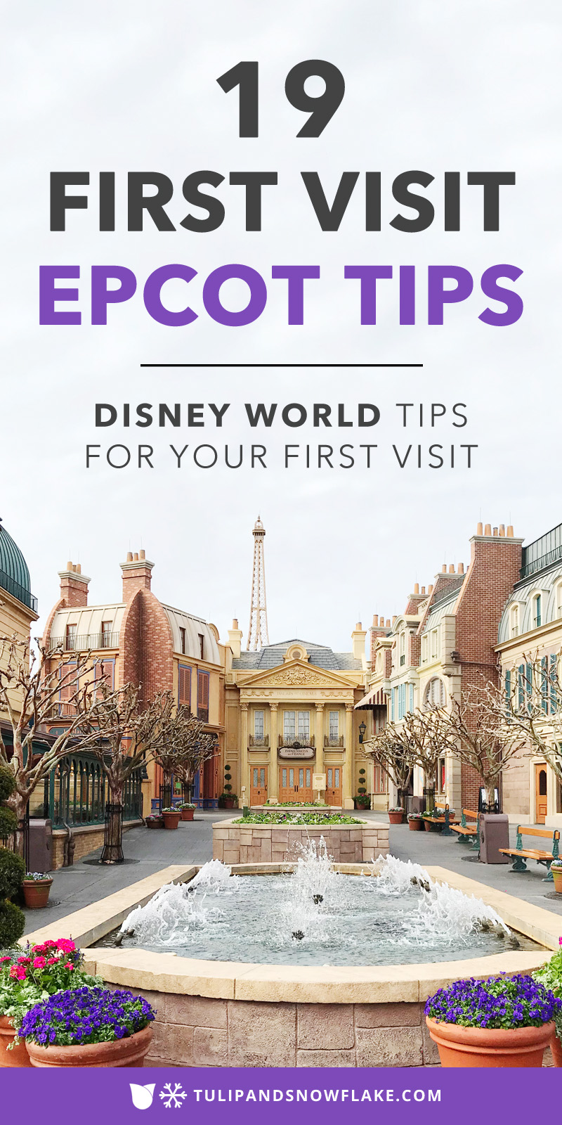 First Visit Epcot Tips