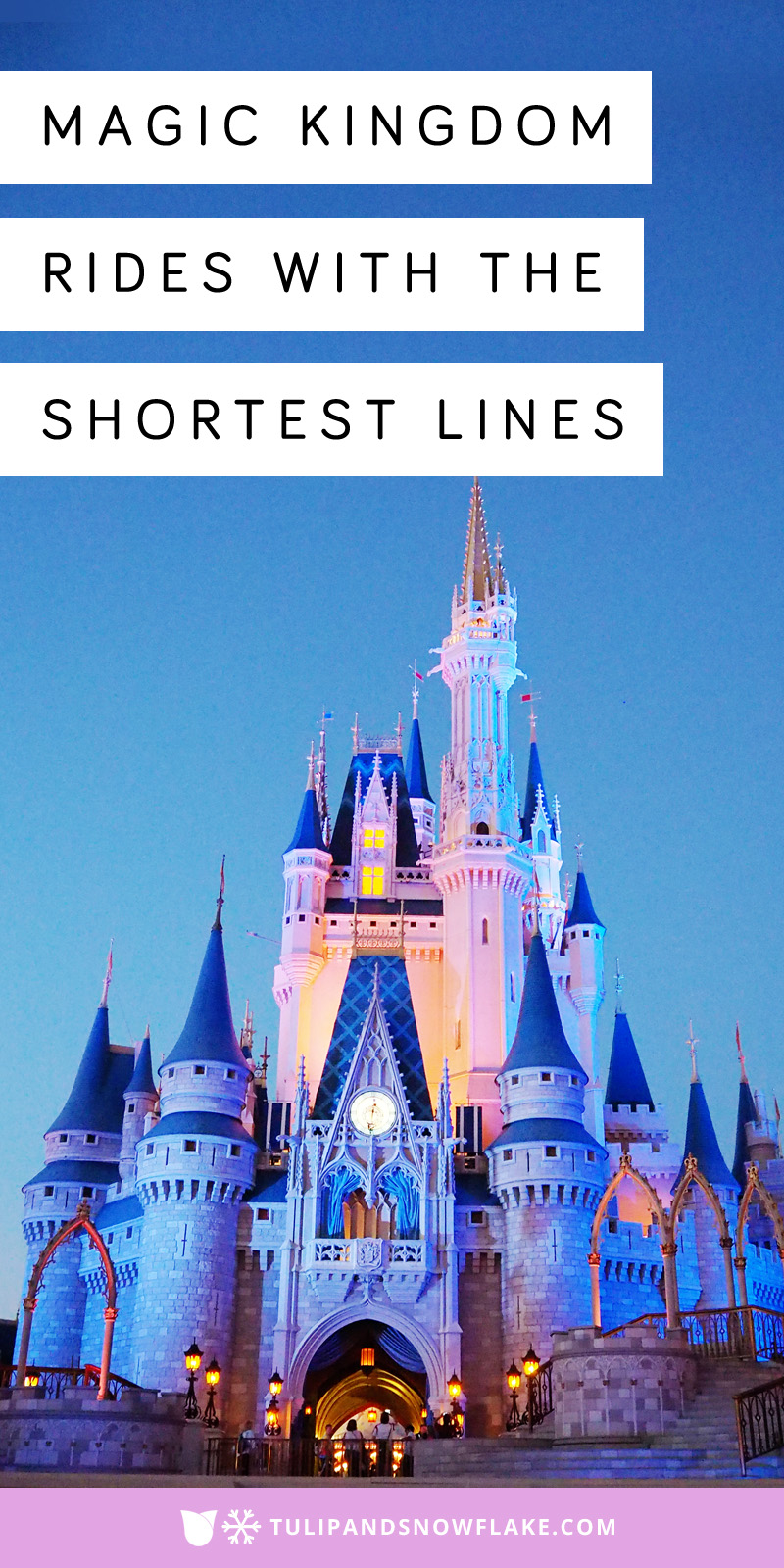 Magic Kingdom Rides attractions with short lines