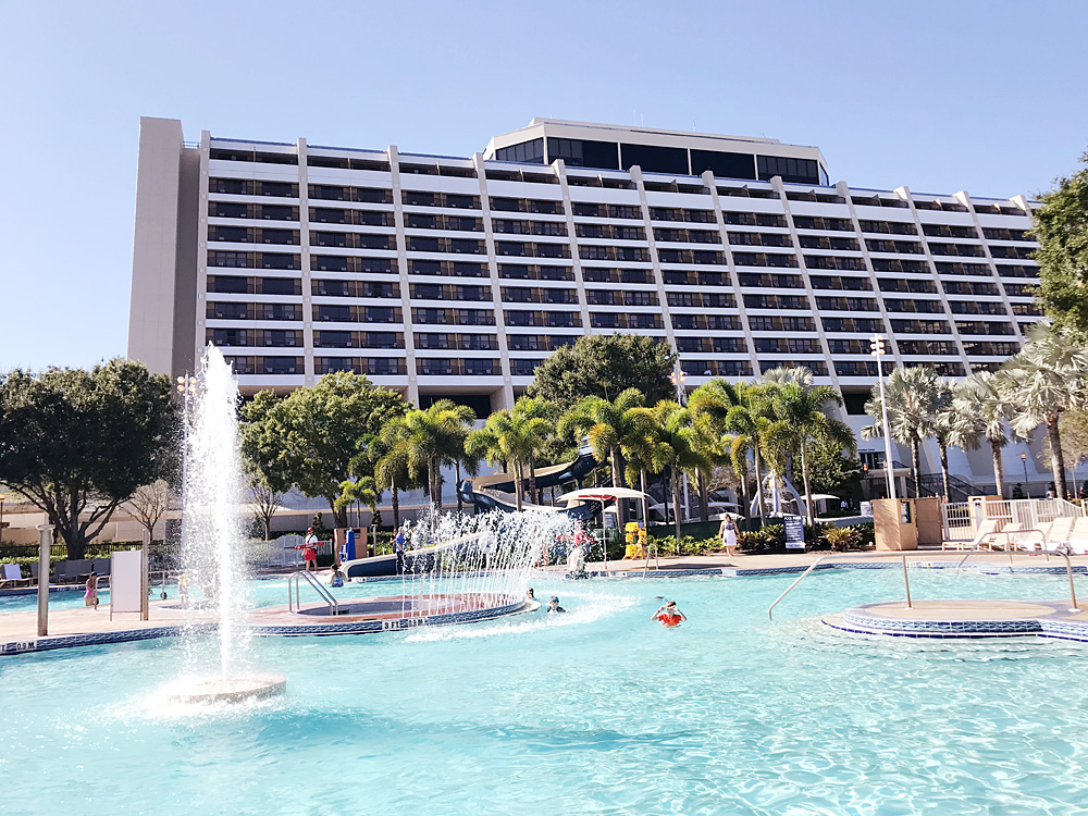 Disney Contemporary Resort pool