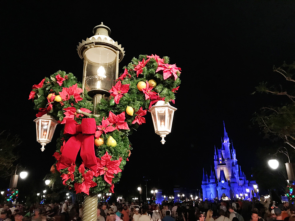 Disney World Christmas Decorations