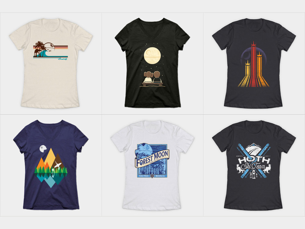 Star Wars shirts for Disney World