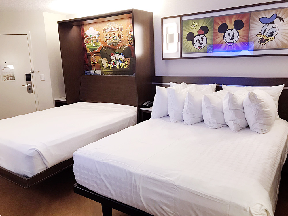 Disney's All-Star Movies Resort refurbished room