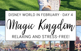 Disney's Magic Kingdom Relaxing and Stress-Free