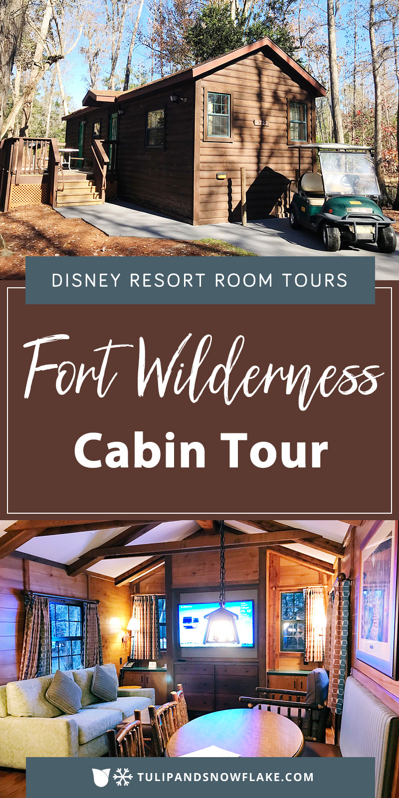 Disney World Fort Wilderness cabin tour