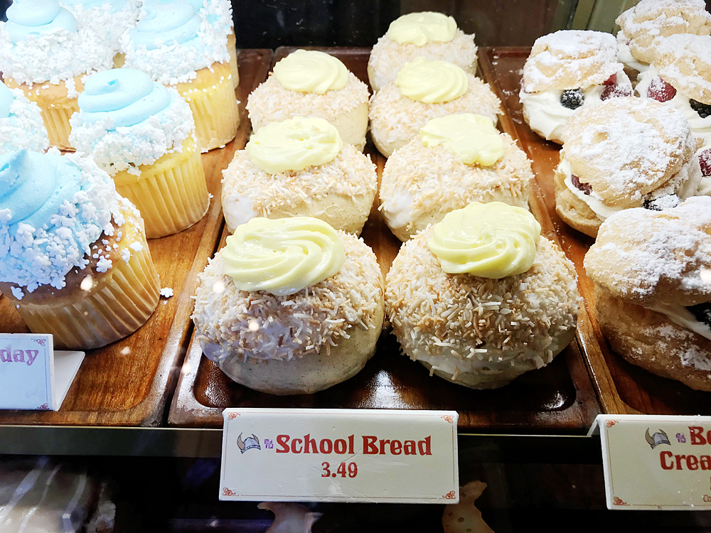 school bread