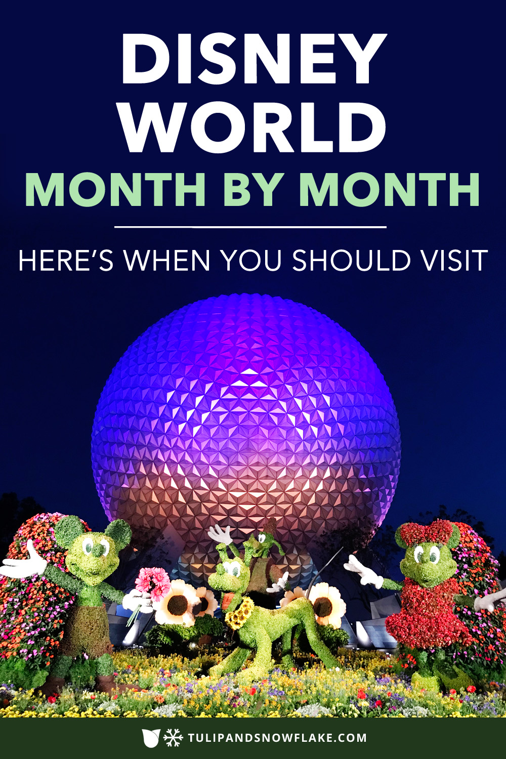 Disney World month by month