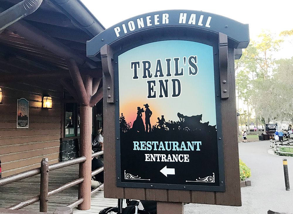 Disney's Fort Wilderness Trail's End