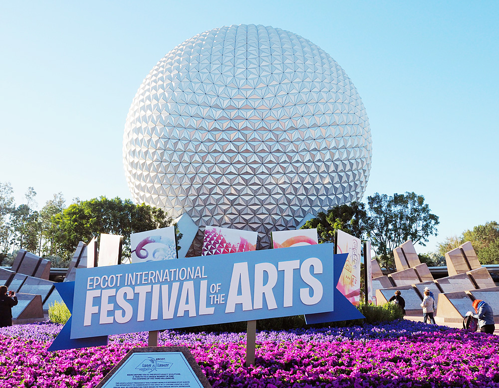 Epcot Festival of the Art