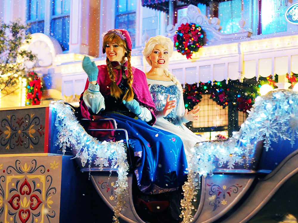 Meet Anna and Elsa at Disney World
