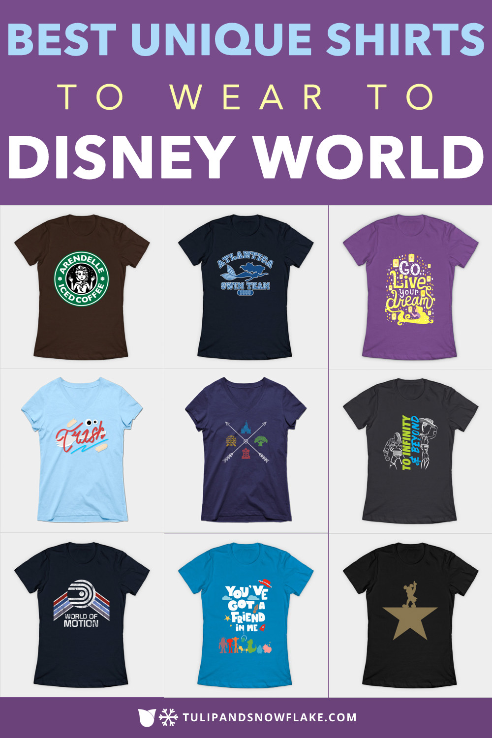 Disney World shirts
