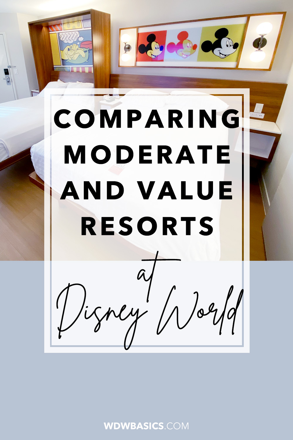 Comparing Disney World Hotels: Disney Value vs Moderate Resorts