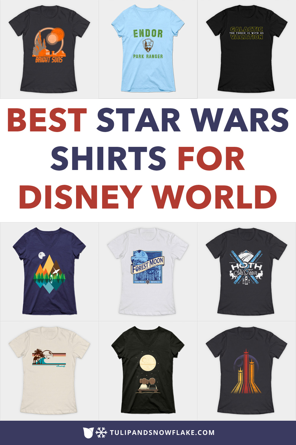 Best Star Wars Shirts for Disney World