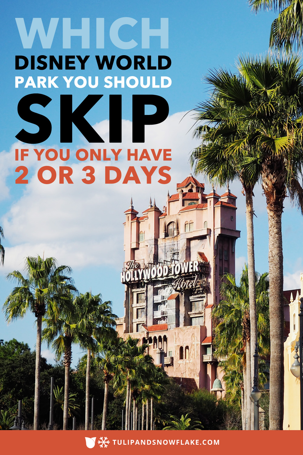 Which Disney World park to skip if you have have only 2 or 3 days