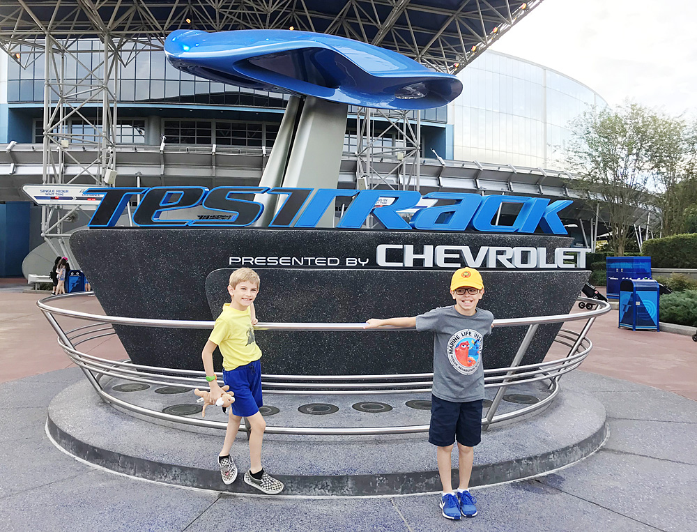 Epcot Test Track FastPass+