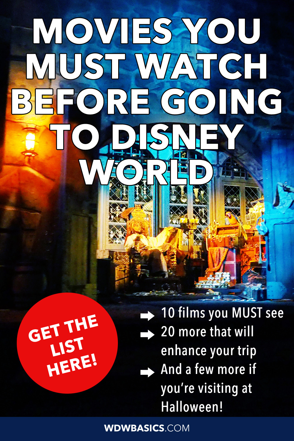 Movies you must watch before going to Disney World