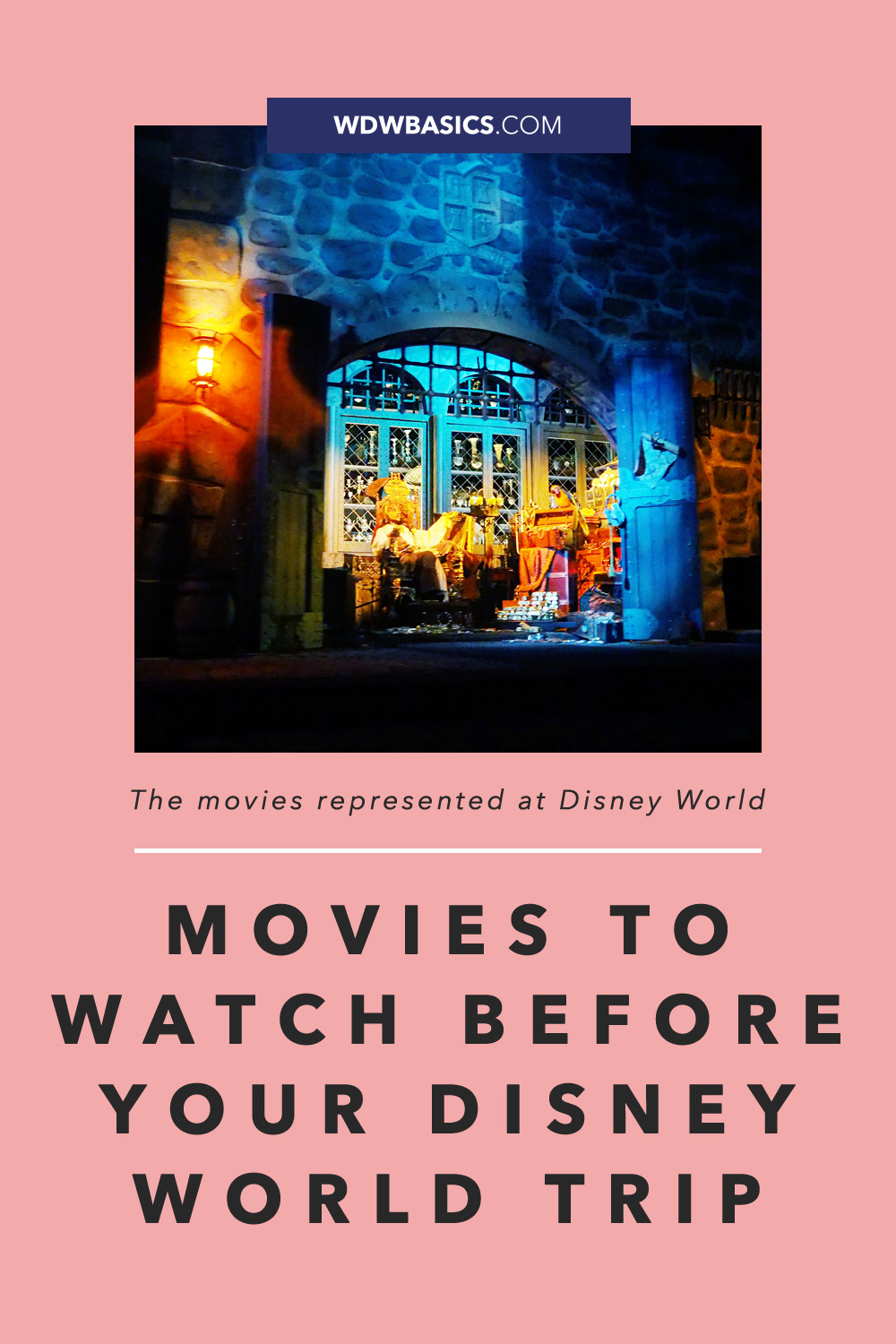 Movies to Watch Before Your Disney World Trip