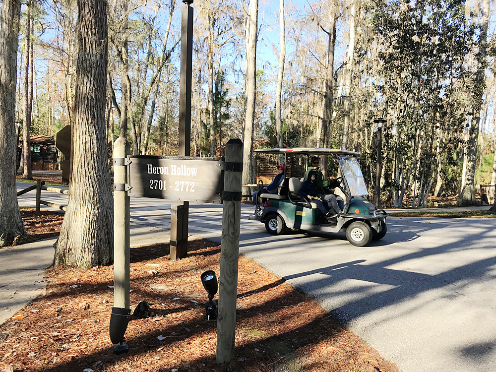 Fort Wilderness golf cart