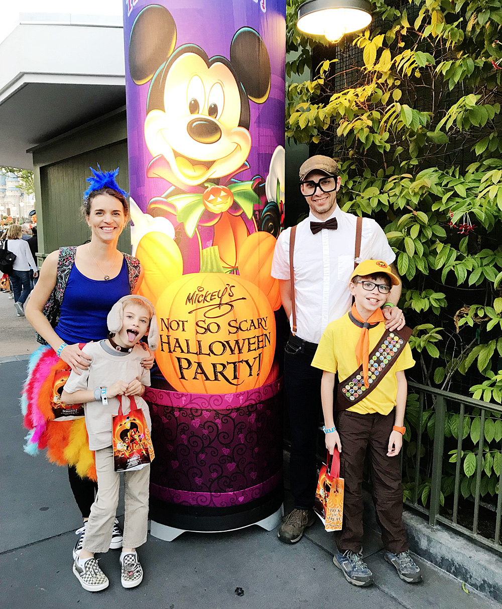 Mickey's Not-So-Scary Halloween Party costumes