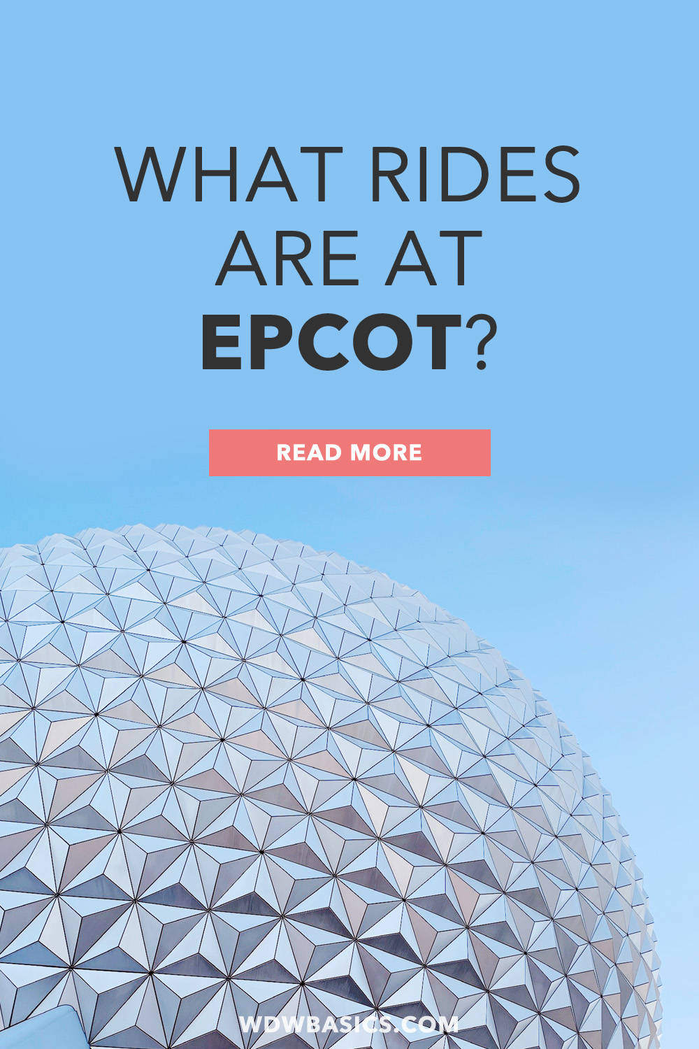 What rides are at Epcot?